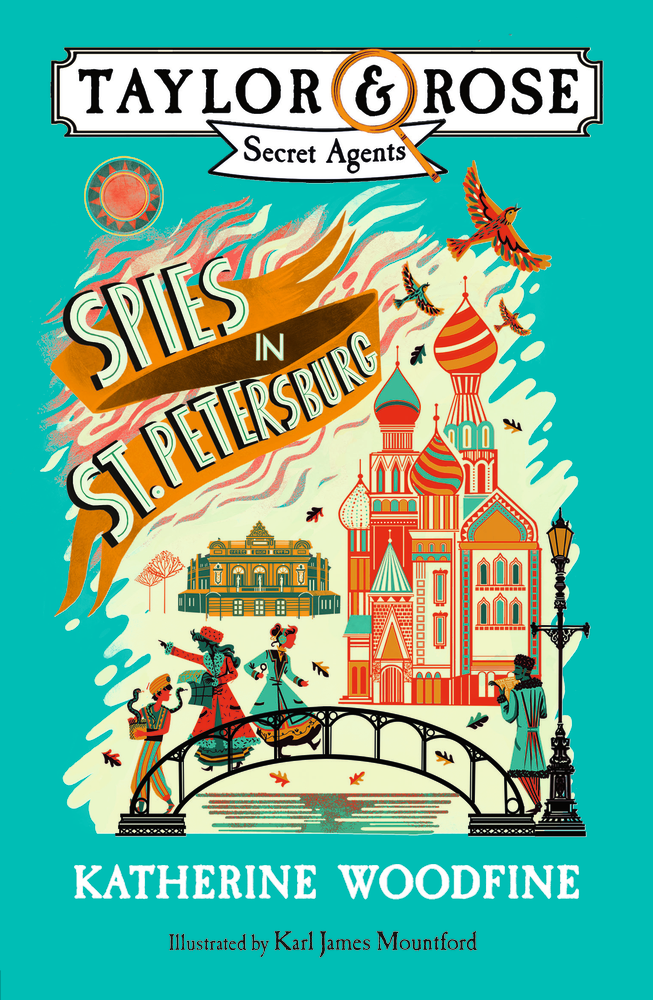 Spies in St Petersburg cover