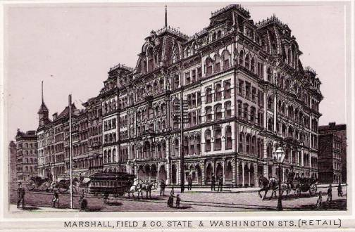Marshall Field in the 1800s
