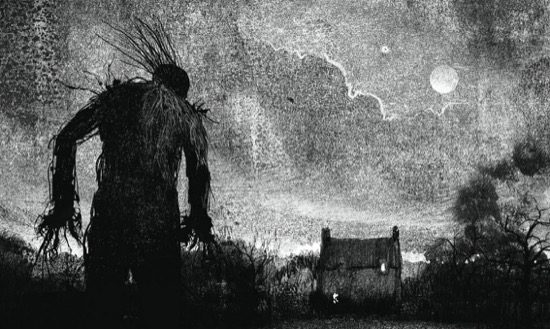 From a Monster Calls written by Patrick Ness and illustrated by Jim Kay