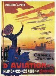 aviation poster 1909