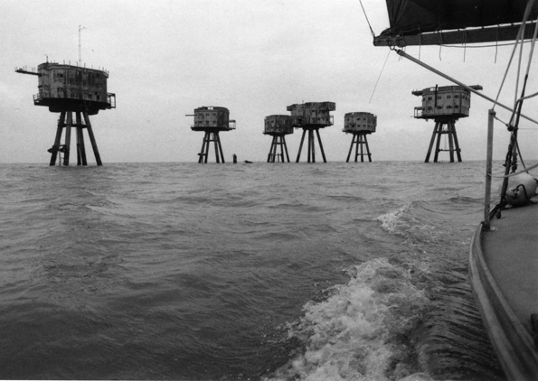 Maunsell Forts, Thames Film by William Raban