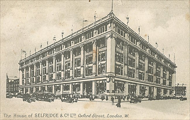 house-of-selfridge-and-co-post-card