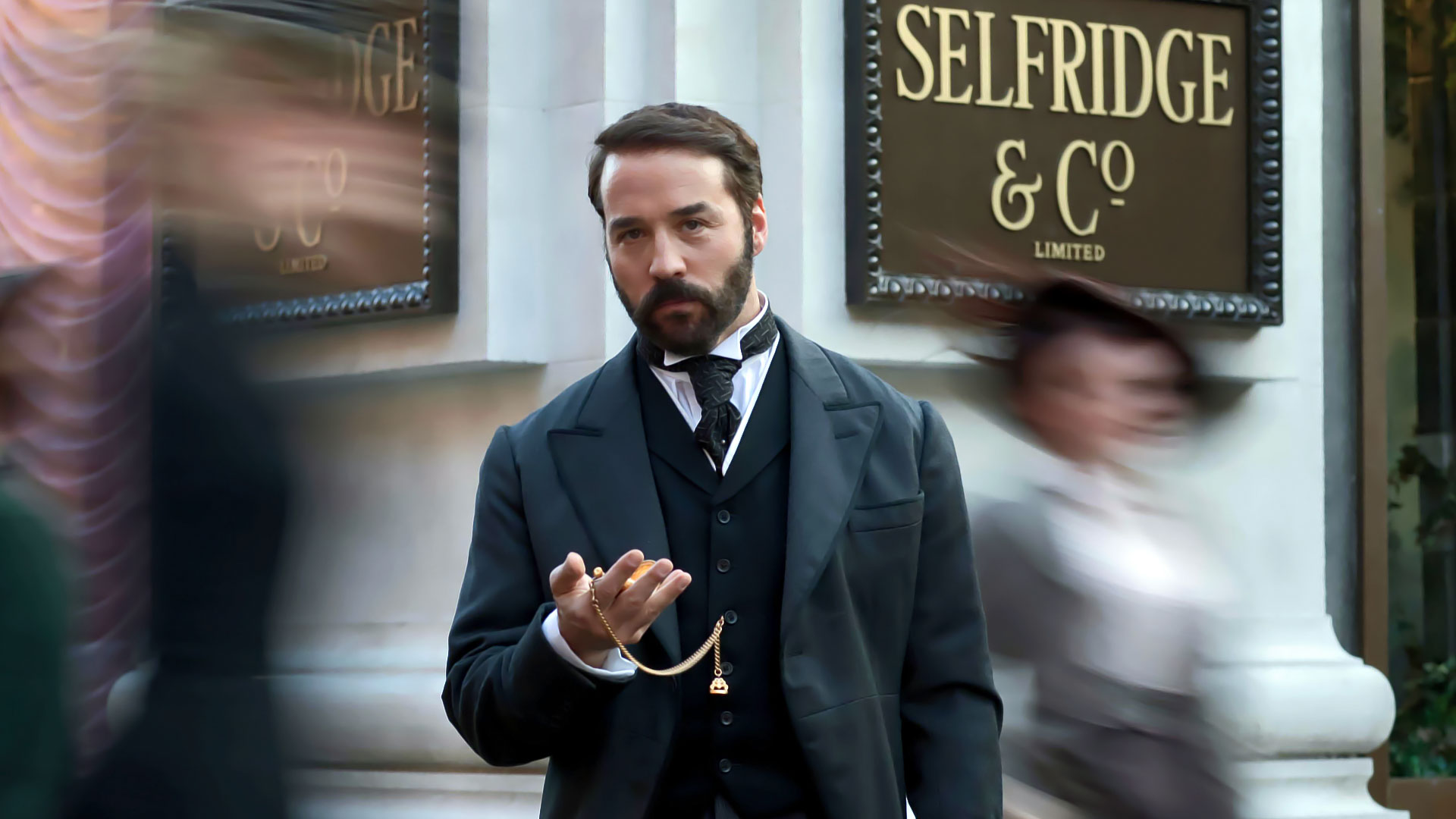 Jeremy Piven as Mr Selfridge in the ITV series