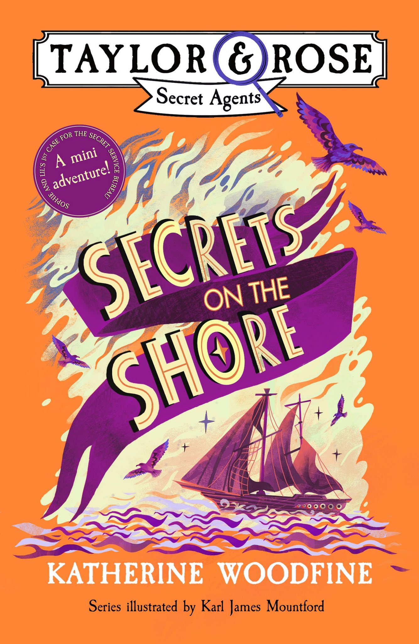 Secrets on the Shore cover