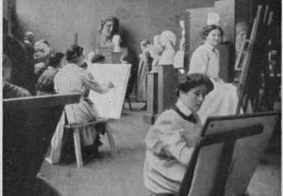 Behind the Scenes: The Edwardian Art School